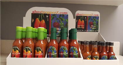 ghostpepperZ.com Fresh from Florida ghost pepper and key lime ghost pepper & habanero hot sauces