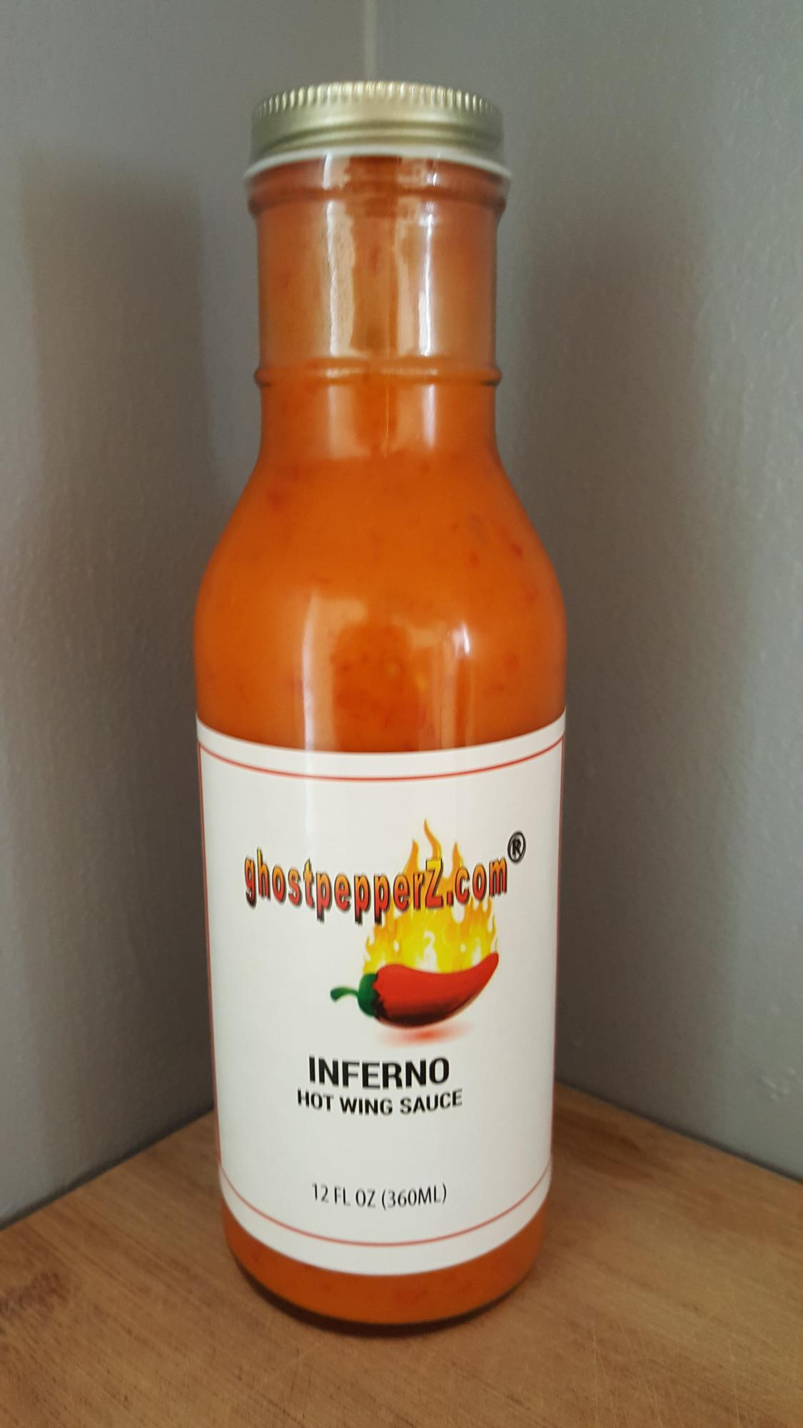 inferno hot wing sauce